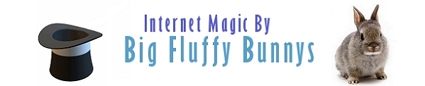 Big Fluffy Bunnys Website Design