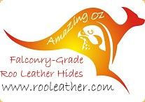 Amazing Oz Falconry Grade Roo Leather Hides