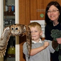Pupils get wise to the world of owls